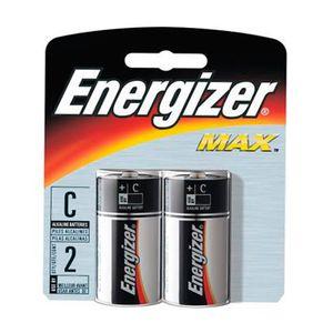 Pilha Média C2 MAX com 2un. Energizer