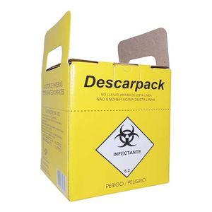 Coletor de Materiais Perfurocortantes 3L Descarpack