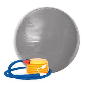 Bola Gym Ball 75 cm Cinza Acte