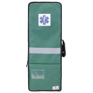 Bolsa Mochila para Inaloterapia Premium Cilindro 3 Litros Verde 702 Fibra Resgate