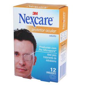 Protetor Ocular Adulto Nexcare com 12un. 3M