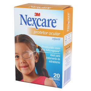 Protetor Ocular Infantil Nexcare com 20un. 3M