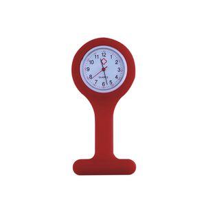 Relógio de Lapela Supermedy Vermelho