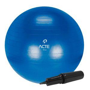 Bola Gym Ball 65 cm Azul Acte