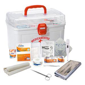 Kit Primeiros Socorros Completo Fibra Cirúrgica
