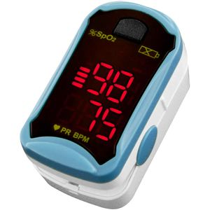 Oxímetro de Pulso Portátil Monitor de Dedo LED G-tech