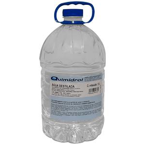 Água Destilada para Autoclave 5 Litros Quimidrol