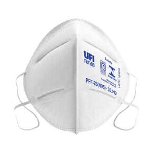 Máscara Respirador PFF2-S N95 Branca com 1un. UFI