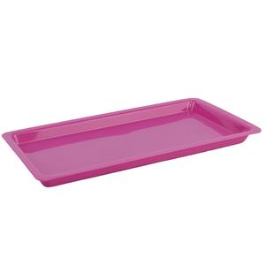 Bandeja Plástica Autoclavável Grande Rosa Nova OGP