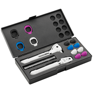 Kit Otoscópio e Oftalmoscópio Pocket Plus LED Set Branco Welch Allyn