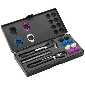 Kit Otoscópio e Oftalmoscópio Pocket Plus LED Set Preto Welch Allyn
