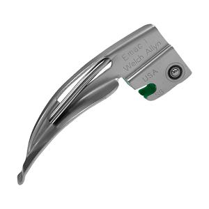 Lâmina Laringoscópio Fibra Óptica Macintosh Curva n°1 Welch Allyn